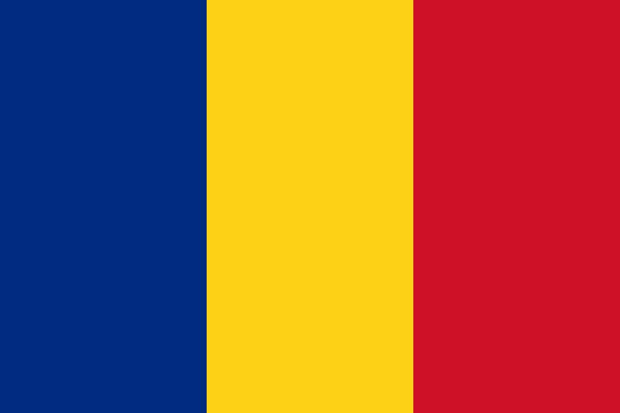 イラスト イラスト 国旗 : ルーマニアの国旗 | FLAT DESIGN::