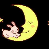 月とうさぎ