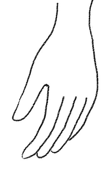 やさしい手のイラストフリー商用ok Flat Design